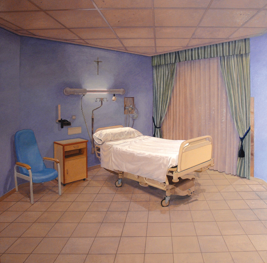 image of painting Room 417 Clinica Ruber