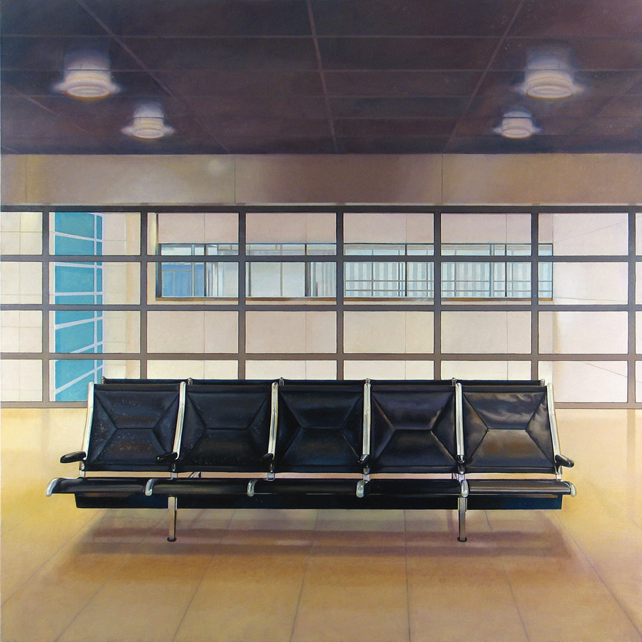Waiting Room size 153cm x 153cm date