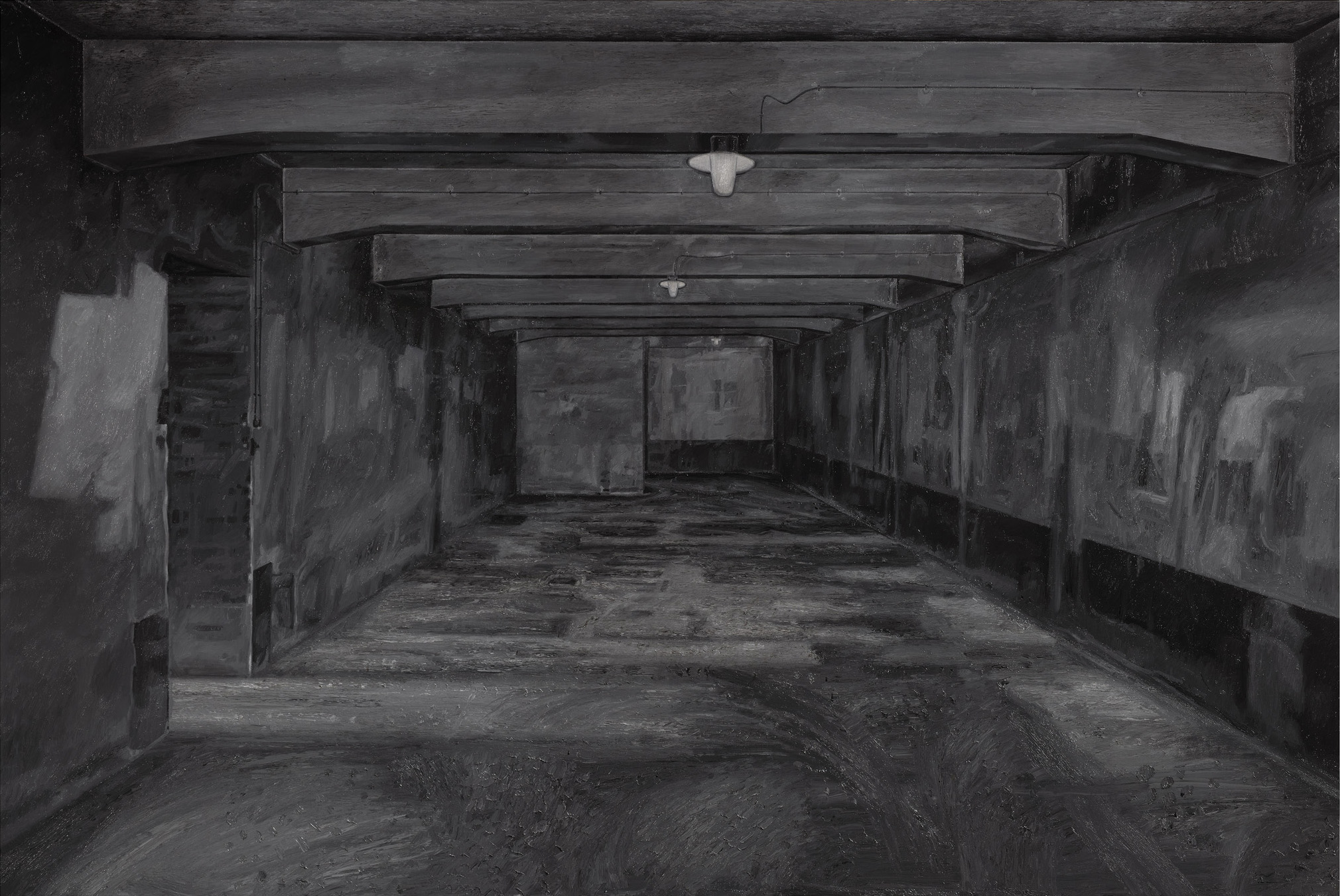 image of painting Auschwitz