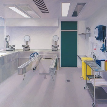 image of painting Mortuary